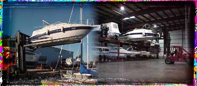 Milwaukee Dry Rack Storage & Dry Rack Storage | CenterPointe Yacht Services | Milwaukee